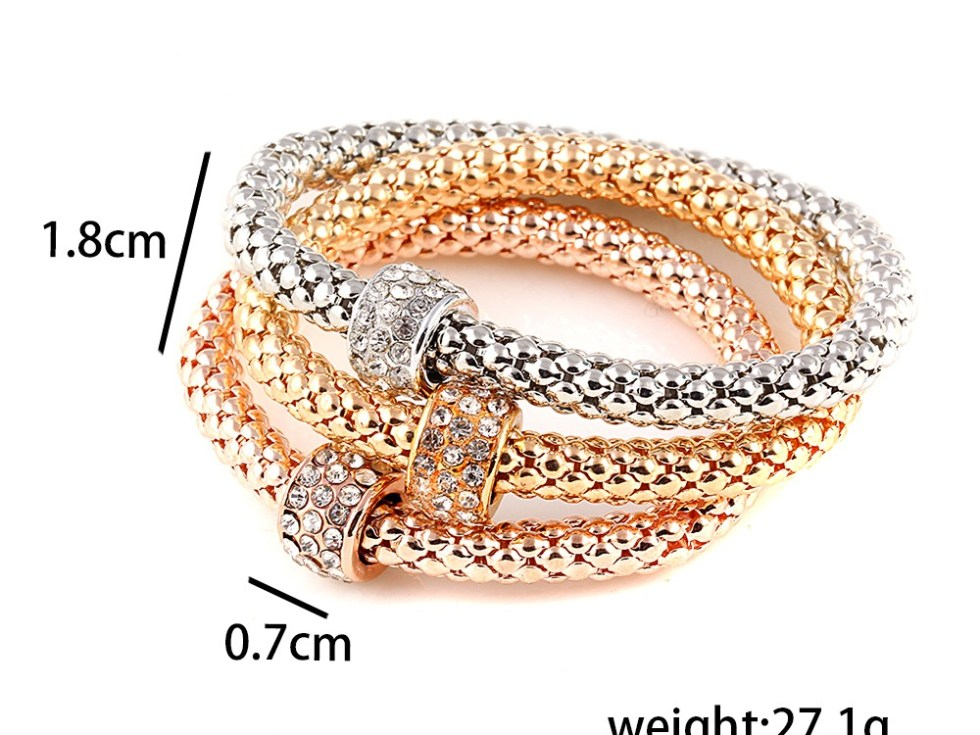 Fashion-3Pcs-Crystal-Bracelet-Women-Gold-Filled-Bracelets-Bangles-Silver-Jewellery-Elastic-Charm-Chain-Gifts-pulseira (1)