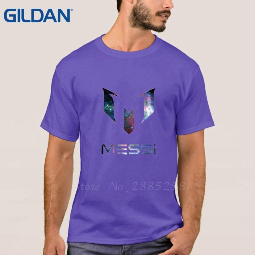 HTB1B5qgRVXXXXbBXFXXq6xXFXXXz - Clothes Print Tee Shirt Homme Style Black Lionel Messi Logo For Footballer Fans Short-Sleeve For Men T-Shirt Size S To 3xl