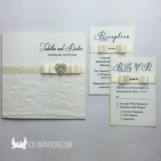 Black White And Gold Foil Pressed Wedding Invitation Suite With Matching Rsvp Enclosure Cards
