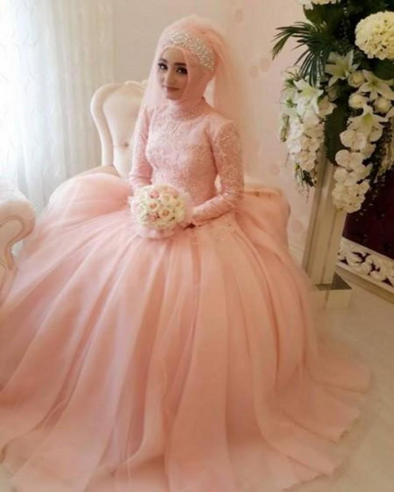 30 Model Hijab Gaun Pengantin Nanajilbab Com