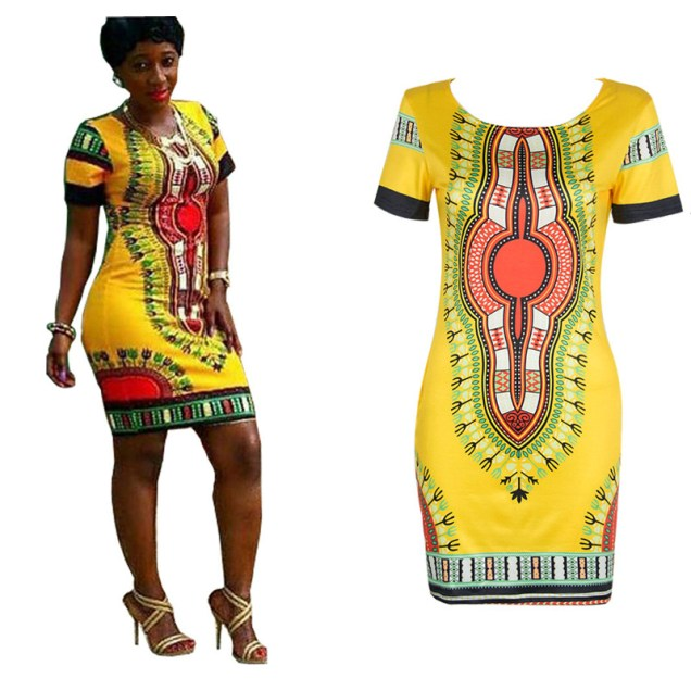 Ankara dress (Photo Credit: Aliexpress)
