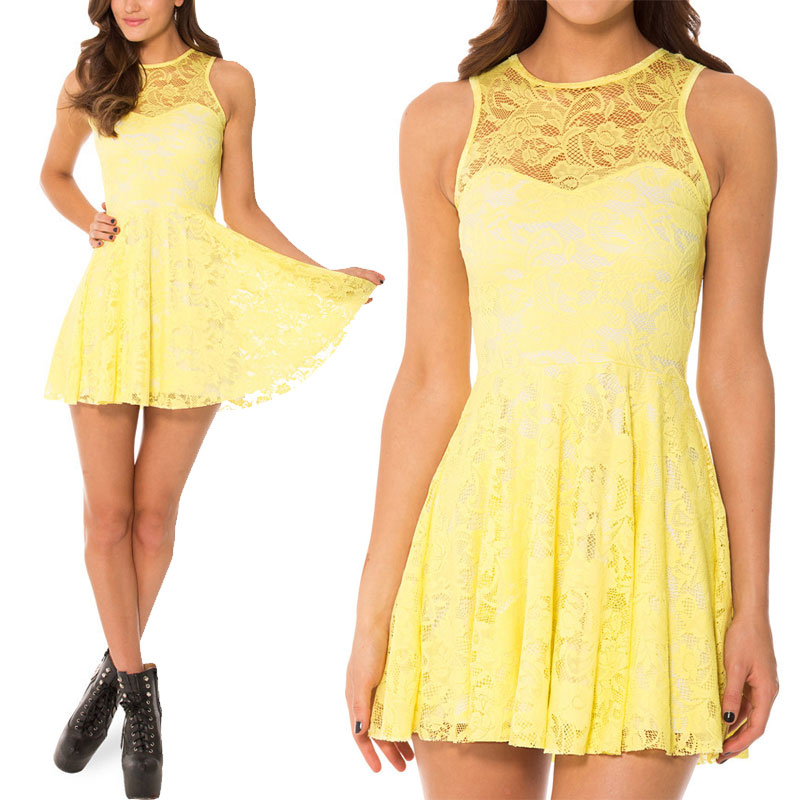 Cheap Plus Size Yellow Dresses - Prom Dresses Cheap