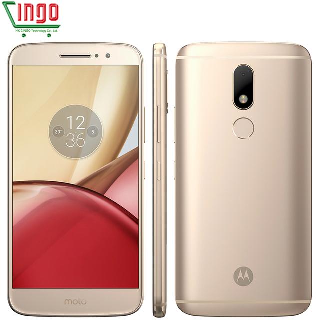 Original Motorola Moto M XT1662 Octa core Dual SIM 4G RAM 32G ROM Android 6.0 3050mAh 5.5'' NFC Fingerprint 4G LTE Smart Phone