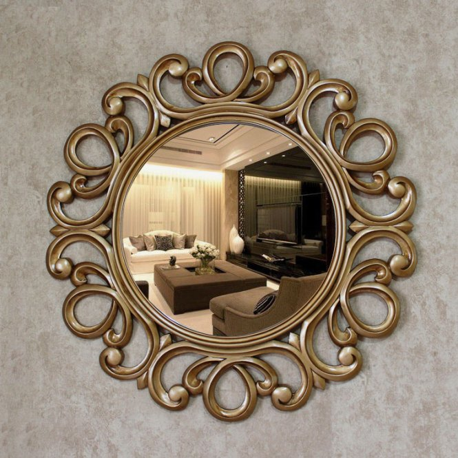 Think Nig Boy And Children S Room Bedroom Marriage Decoration Creative Backdrop Stickers Affixed Decorative Mirror