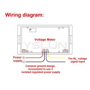 Vdo Voltmeter Wiring Diagram  Circuit Diagram Maker
