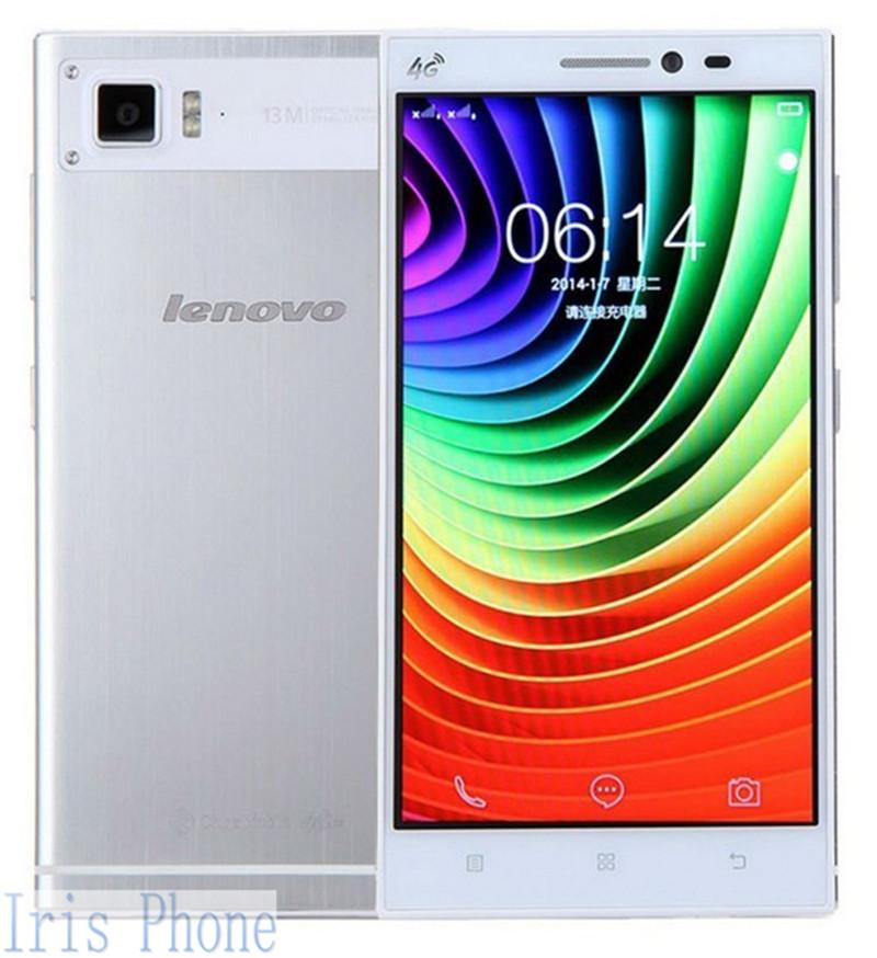 מקורי Lenovo VIBE Z2 K920 מיני Snapdragon 410 מרובע ליבות 4G WCDMA אנדרואיד 4.4 5.5 אינץ 2GB RAM 16MP 3000MAh טלפון נייד