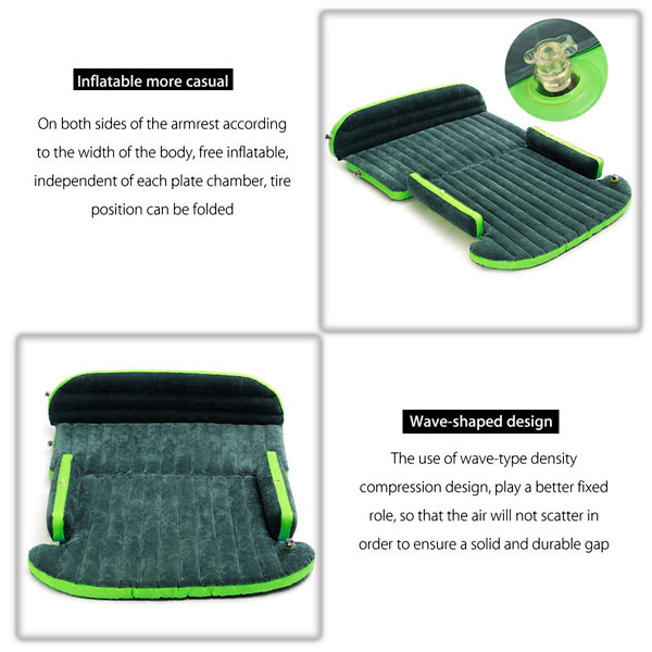 aeProduct.getSubject()  Automotive Inflatable Mattress – Seat Journey Mattress Air Mattress Cushion Journey Beds Couch with Pump Tenting Moisture-proof Pad Out of doors for SUV HTB1RI5oQpXXXXb6XVXXq6xXFXXXW