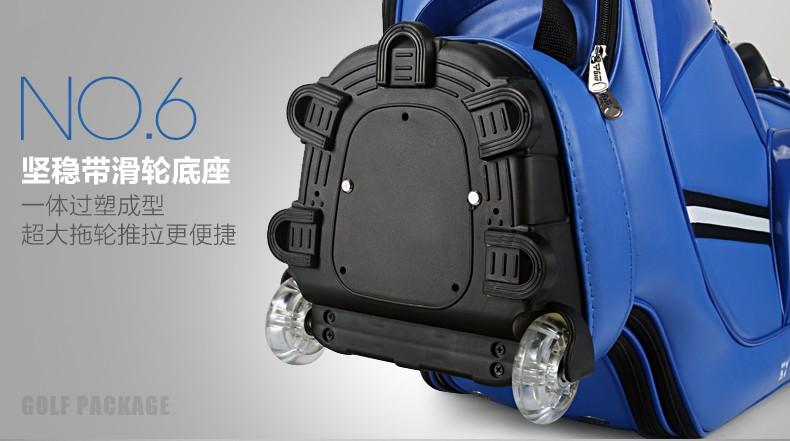 HTB1UJI9KVXXXXaXXFXXq6xXFXXXS - PGM Golf travel bag wheels stand caddy airbag flight aviation aircraft high capacity golf cart bag staff golf bags Labor saving