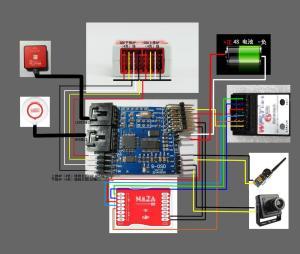 SOSD iOSD Remzibi OSD Module with Flight Mode for DJI
