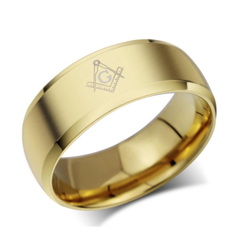 Resultado de imagem para anel de ouro maçonico