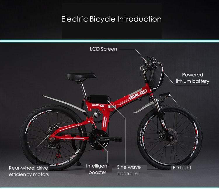 HTB1YJmGNFXXXXa7XXXXq6xXFXXXa - Authentic X-Entrance model 21 velocity 26 inch 20A 48V 500W Lithium Battery Electrical folding Mountain Bike downhill Bicycle ebike