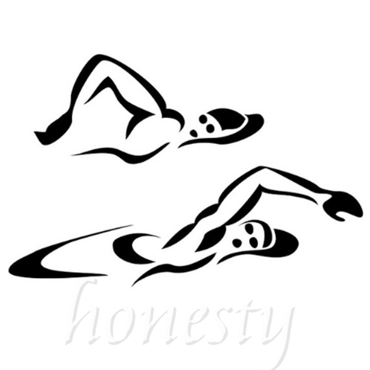 Promocion De Nadadores Cuerpo De Alta Calidad