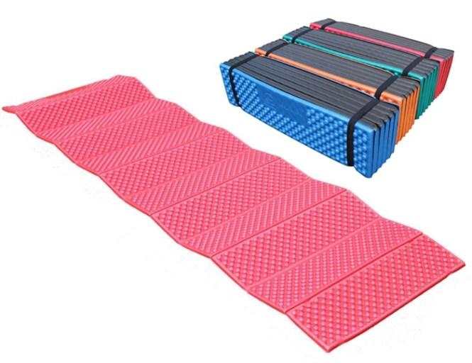 Ultralight Outdoor Air Inflatable Mattress Camping Picnic Mat Plaid Foam Sleeping Pad Folding Waterproof 190 57