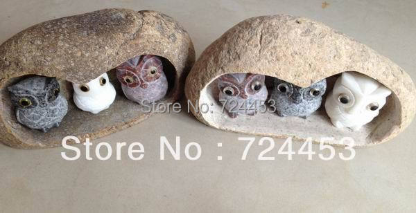 Home Decoration Natural Stone Font