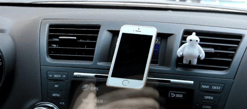 אוניברסלי רכב מגנטי בעל טלפון עבור iPhone 5 5s iPhone 6 מכונית הר מחזיק עבור גלקסי 3 4 S4 S5 Sony אביזרי רכב