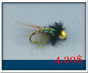 Brass-Bead-Head-Chironomidae-Holographic-Midge-Nymph-Fly