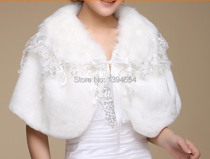 Free Shipping Sexy Lace Short Sleeve Wedding Shawls Wraps