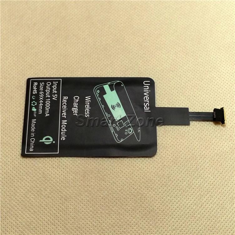 צ ' י אוניברסלי מטען אלחוטי מקלט טעינה מתאם קולטן מקלט כרית הגליל Xiaomi THL OnePlus כבוד מיקרו USB נייד