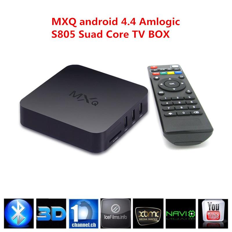 Xbmc натяг Vsmart MXQ S805 андроид 4.4 TV приставка четырехъядерный процессор 1 ГБ + 8 ГБ корка A5 1.5 ГГц + Mali-450 Android 4.4 WIFI фильм медиаплеер Цена: 30.78 EUR