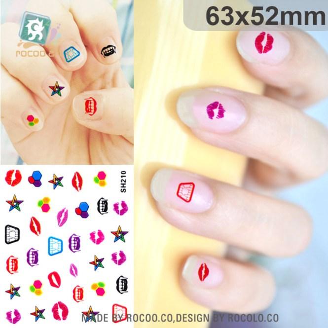 2016 New Erflies Cartoon Element Art Stickers For Nail Painting Best Polish
