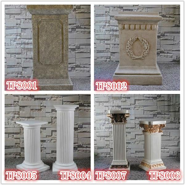 resine decoratif pilier romain interieur et exterieur