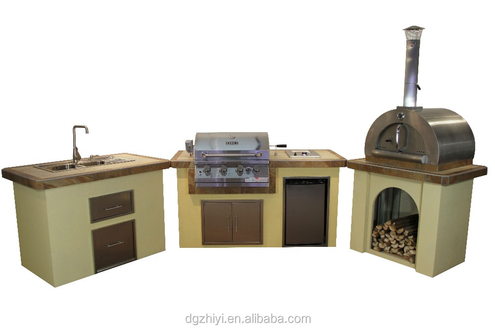 Steele affordable bbq grills and outdoor kitchen equipment for Outdoor kitchen equipment