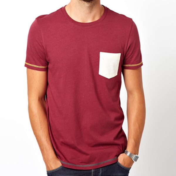 Pocket Wholesale Blank T Shirts