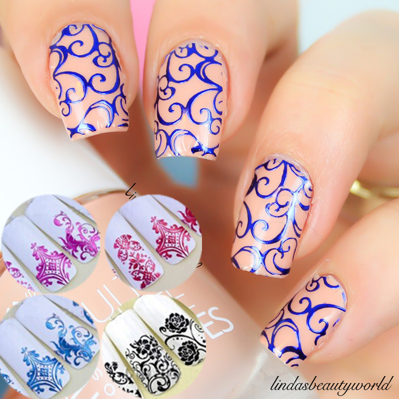 Easy Diy Nail Art Stickers Using A Freezer Bag View Images