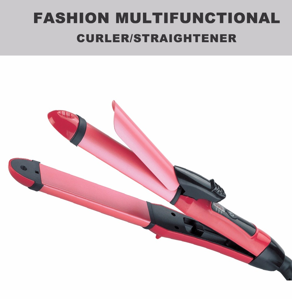 Chu Cheng Multifunctional Fast Hair Curler Straightener