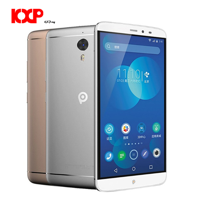 Original PPTV KING 7/7S Smartphone Helio X10 Octa Core 6.0 inch 2.5D IPS 2K Screen 3GB+32GB 4G Game Music Moive Mobile phone