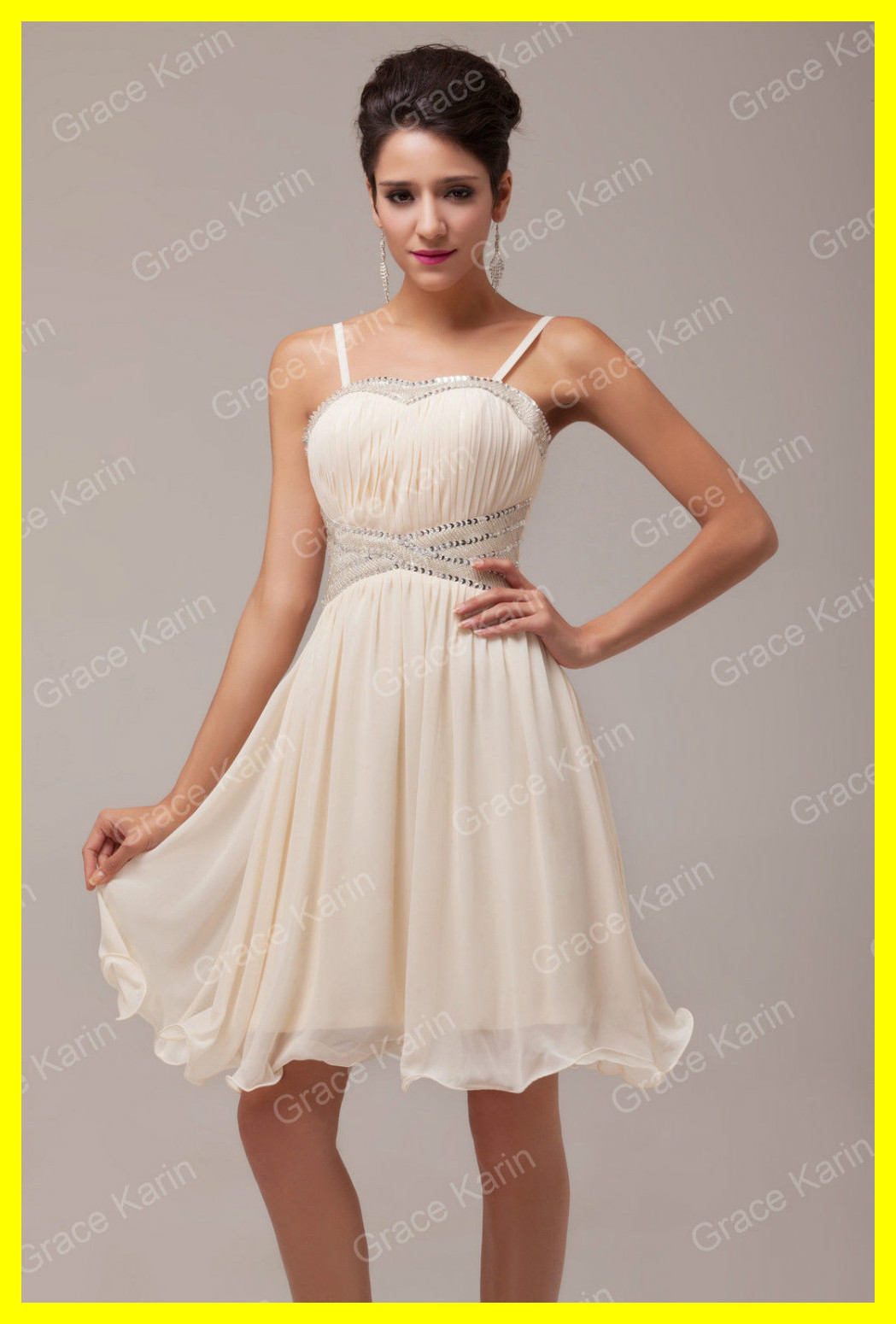 High Street Wedding Dress Shorty Dresses Simple White