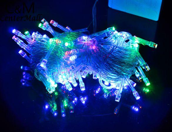 10M Guirlande Lumineuse Exterieur 100 Fairy Xmas Tree Navidad LED String Lights Decoration New Year Led Christmas Lights Indoor