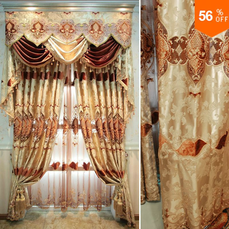 Curtains For Windows Quality New Chinese Style Embroidered Curtain Finished Products Fashion