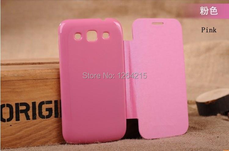 משלוח חינם באיכות המקורית 12 צבעים בחזרה כיסוי נרתיק עור Flip סוללה דיור Case For Samsung Galaxy Win i8552 8552