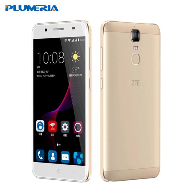 "Original ZTE Blade A2 Plus Mobile Phone Dual SIM 5000Mah 5.5""FHD Octa Core FingerPrint 3/4G RAM 32GB ROM Android 6.0 Metal Body"