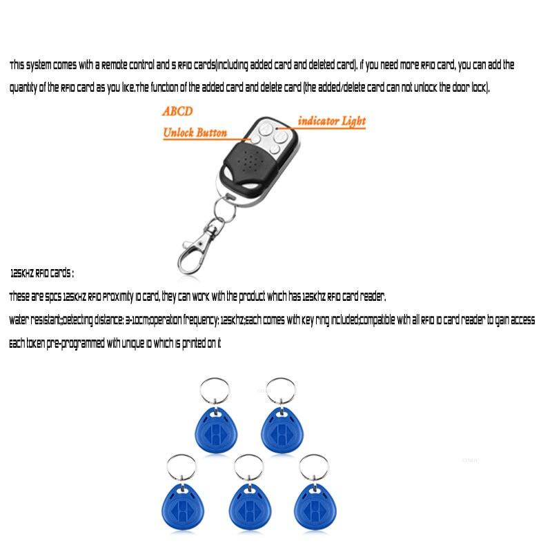 7″ Color Video Intercom Door Phone System with Card Unlock Intercom