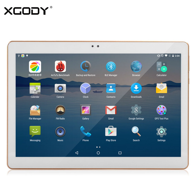 XGODY S101 10.1 дюймов 4 Г LTE Tablet PC Phone Call Android 5.1 MTK6735 Quad Core 1 ГБ RAM 16 ГБ ROM Wi-Fi OTG 1280x800 5MP GSM/WCDMA