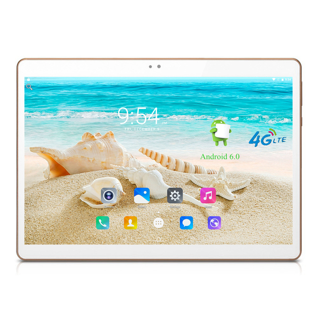 "4 Г Android 6.0 Tablet PC Tab Pad 10 Дюймов 1920x1200 IPS Quad Core 2 ГБ RAM 16 ГБ ROM Две СИМ-Карты ООО FDD Телефонный Звонок 10 ""Phablet"