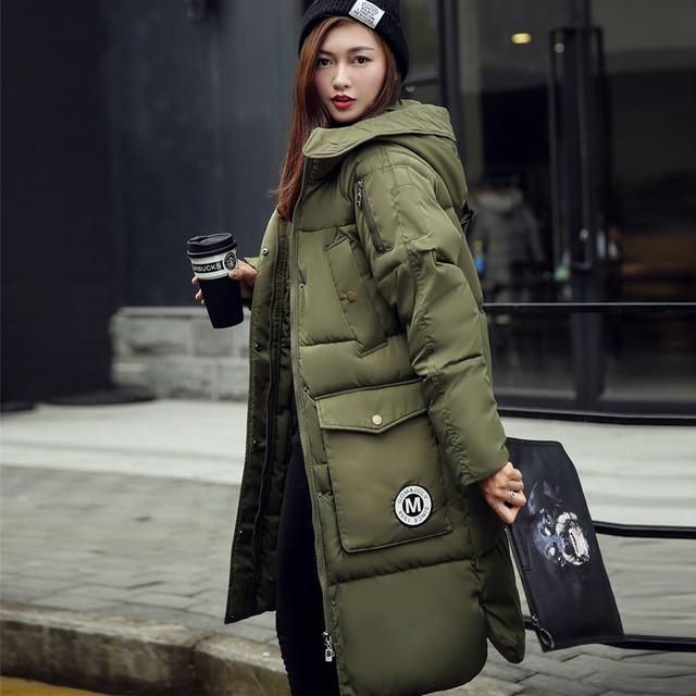Продавать себе в убыток бомбардировщик куртка 100% пальто хлопка 2016 европейский Стиль Женщина Выше Колен Длинные Фонда Одежды Свободные Пальто куртка женский