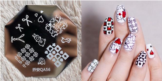 Custom Design Fashion Nail Art Designs Handmade