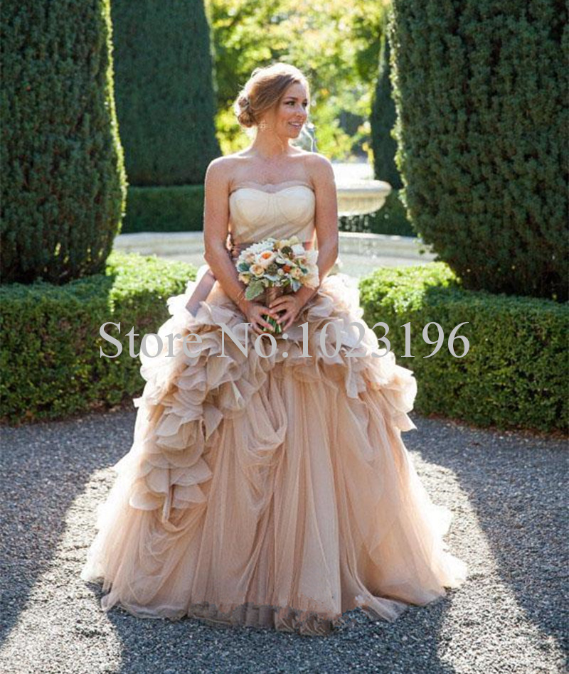 4e2216984e7c Cheap Wedding Tulle. cheap strapless tulle ball gown wedding dresses ...
