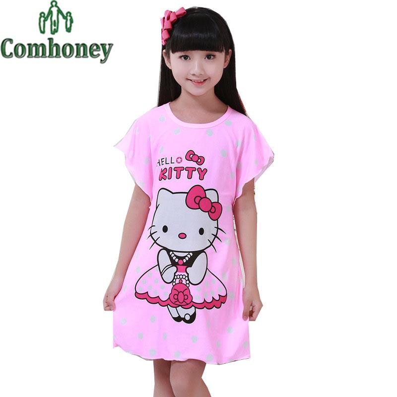 dress hello kitty minnie mouse pyjamas nightgown doraemon princess