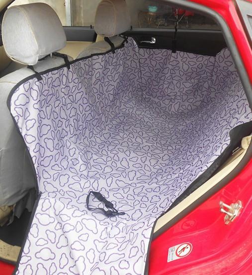 Накидка для перевозки животных на заднем сидении машины