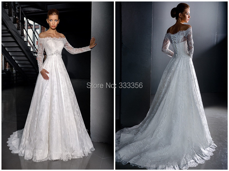 2016 High Quality Amzaing Elegant Simple Wedding Dress
