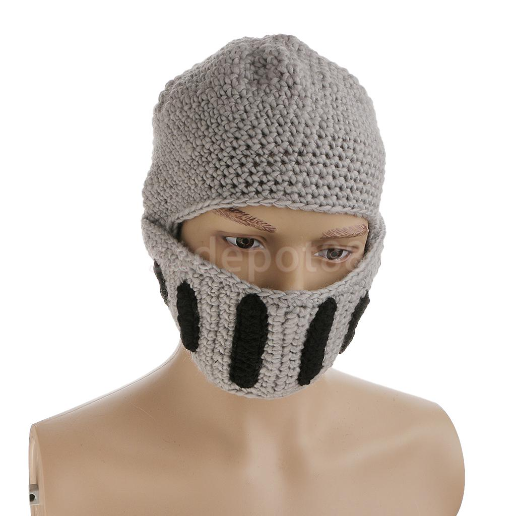 Knitted Knight Helmet Pattern
