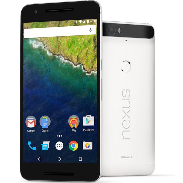 """Huawei Nexus 6 P 4 К 5.7 """" Octa ядро 2.0 ГГц Android 6.0 оригинальных разблокирована мобильных телефонов 3 г оперативной памяти 32 г ROM 3 г WCDMA 4 г LTE Google телефонов"""