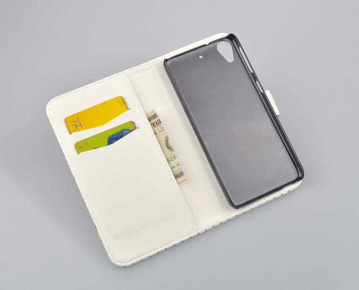 עבור HTC 626 תיק אופנה Flip עור PU כיסוי עבור HTC Desire 626 626G 626G+ 626s המקרים טלפון עם עמוד עם מחזיק כרטיס
