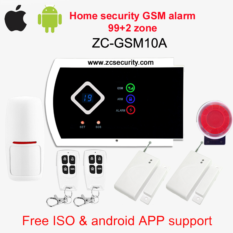 Alarm Gsm Zc System Security