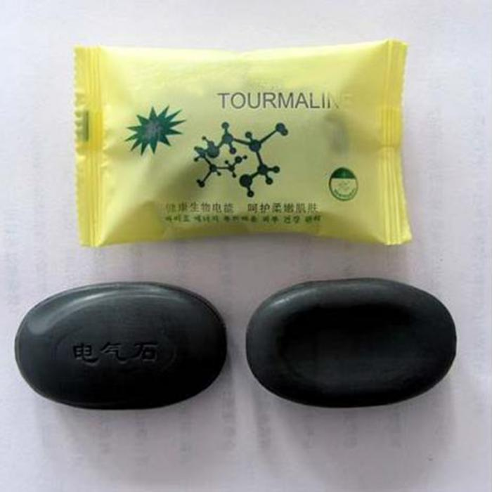 2018 Newly Tourmaline Soap Personal Care Soap Face and Body Beauty Healthy Care Best Gift For Women