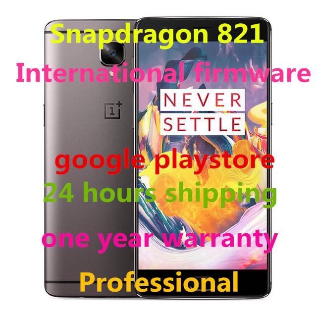 "Original Oneplus 3T 3 LTE 4G Mobile Phone Snapdragon 821 5.5"" Android 6.0 Smart Phone 6GB RAM 64GB/128G ROM 16MP Fingerprint NFC"